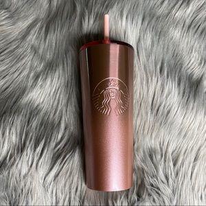 NEW Starbucks Rose Gold 24oz Cup